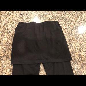 CAbi Pants - Cabi black skirted leggings size small